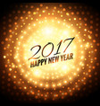 2017 new year party celebration background with vector image vector image