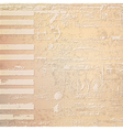 abstract beige grunge background with piano keys vector image vector image