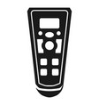 air cleaner remote control icon simple style vector image vector image