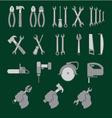 locksmith tools vector image vector image