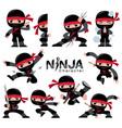 ninja character vector image