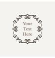 ornate richly decorated vintage frame vector image vector image