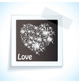 Paper tape love tag vector | Price: 1 Credit (USD $1)