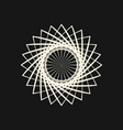 sacred geometry 0018 vector image
