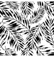 summer art rough grunge tropical leaves vector image vector image
