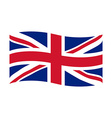 United Kingdom of Great Britain vector image vector image