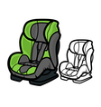 Car Seat vector image vector image