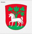 emblem of city of denmark vector image