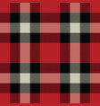 lumberjack tartan and buffalo check plaid vector image vector image