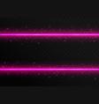 pink laser stripes vector image vector image