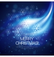 glowing Christmas background vector image