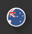 australia national flag on dark background vector image