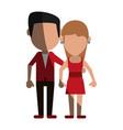 Avatars of traditional couple icon image