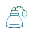 fragance bottle icon vector image vector image