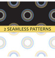 seamless pattern with colored abstract circles vector image