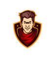 texas cowboy mascot logo vector image vector image