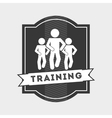 training icon vector image vector image