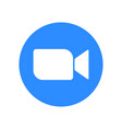 video call icon vector image vector image