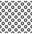 Abstract cogwheel background pattern vector image