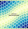 background with color hexagons elements vector image vector image