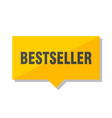 bestseller price tag vector image vector image