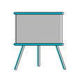 chalkboard board icon image vector image