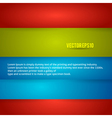 Color Banner vector image