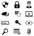 Security design vector image vector image