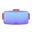 vr virtual reality glasse on an isolated vector image