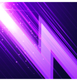 Abstract glowint background vector image vector image