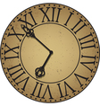 antique clock face vector image