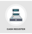 Cash register flat icon vector image