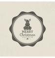 Happy christmas vector image vector image