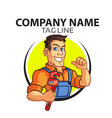 Plumber Logo vector image vector image