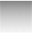 Rhomb Halftone Pattern vector image
