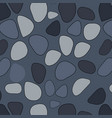 seamless stone pattern broken glass abstract vector image vector image