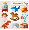 set kids toys part 2 vector image