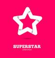Star logo Star icon Leader boss star winner vector image vector image
