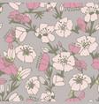 cute flower seamless pattern vector image
