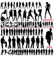 100 fashion people vector image vector image