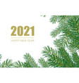 2021 new year background festive premium design vector image vector image