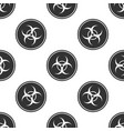 biohazard symbol icon seamless pattern vector image vector image