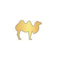 Camel computer symbol vector image