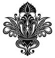 damask symbol vector image vector image