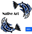 native salmon vector image vector image