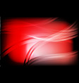 red and black geometric abstract on background vector image
