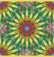 surround abstract blossom gentle colored vector image vector image