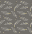 Banana leaves seamless pattern background