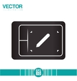 Design table icon design vector image
