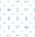 fix icons pattern seamless white background vector image vector image